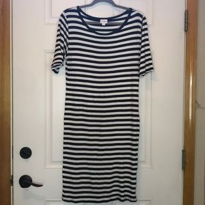 LuLaRoe Julia- Size XL, Excellent Used Condition